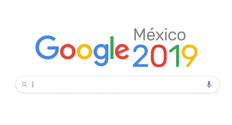 Top de búsquedas en Google en 2019 - México